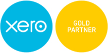 Bookit Bookkeeping Xero Gold Partner Logo