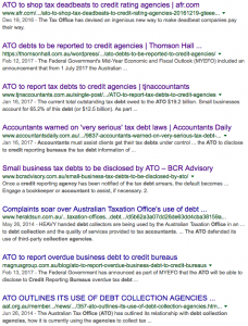 Bookit Blog ATO Credit Agency Debt Accountants