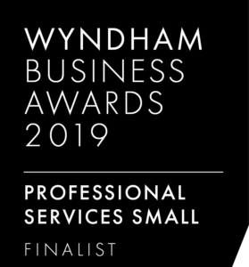 Bookit Bookkeeping Finalist Wyndham Business Awards 2019 Professional Small Services