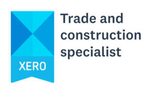 Bookit Bookkeeping Xero Trade and Construction Specialist black text