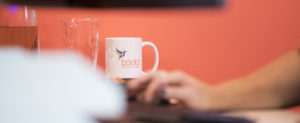 Bookit Bookkeeping bookkeepers hummingbird mug