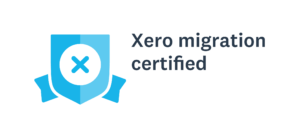 Bookit Bookkeeping migration certified black text